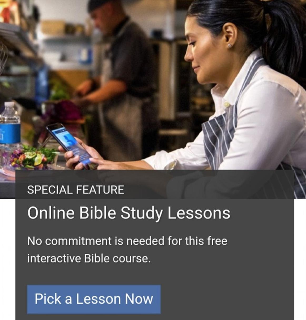 Curso Bíblico en Linea Gratuito [Ingles]