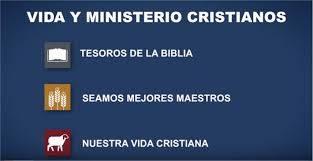 Información completa de la Reunión Vida y Ministerio Cristianos - Semana del 09 a 15 de julio 2018