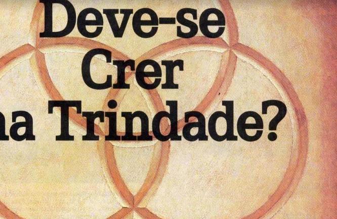 Folleto: Deve se crer na Trindade