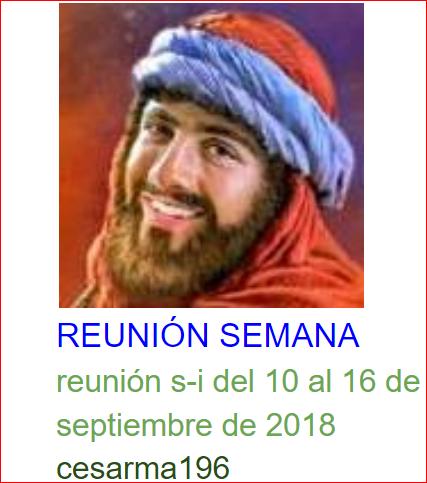 reunion s-i del 10al 16de septiembrede 2018