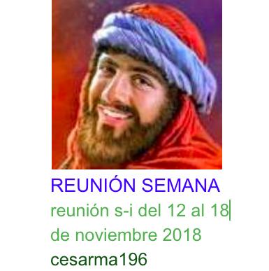 reunion s-i del 12al 18de noviembre de 2018