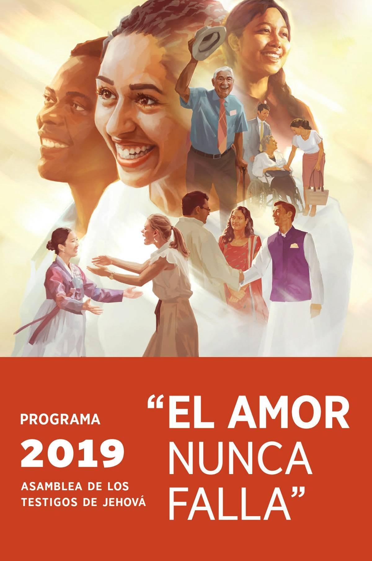 """Programa Asamblea Regional 2019 """"El Amor Nunca Falla"""" Isilo"""