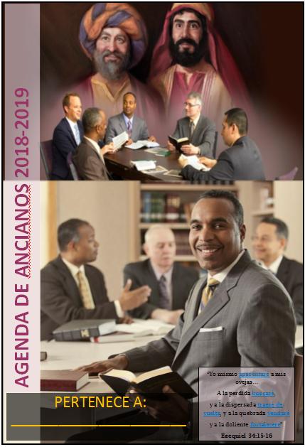 Agenda de Ancianos (Superintendente Coordinador) 2019-2020
