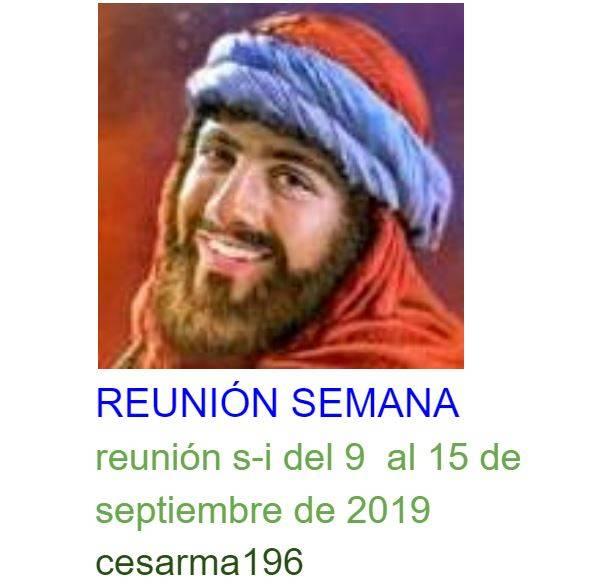 reunion s-i del 9 al 15 de septiembre de 2019