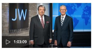JW Broadcasting: Noviembre de 2019