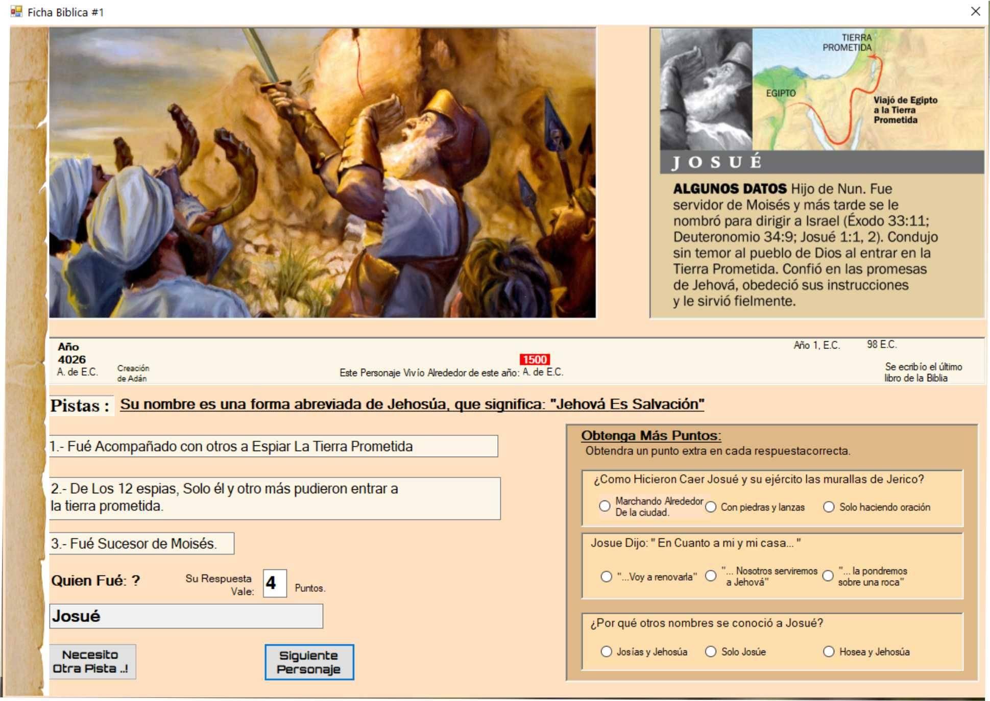 Trivia de Personajes Bíblicos