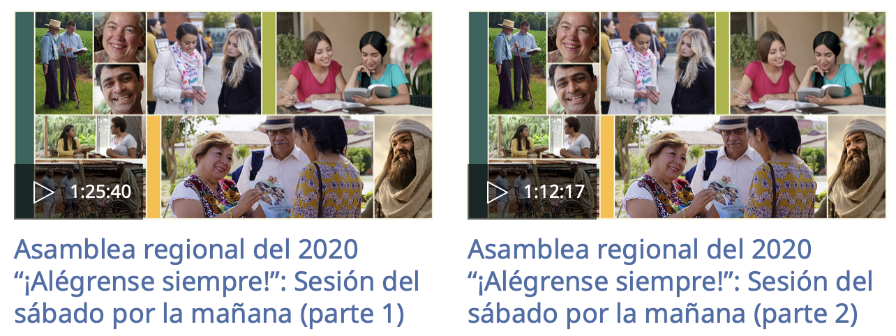 """Asamblea regional del 2020 """"¡Alégrense siempre!"""": Sesión del sábado por la mañana (parte 1 y 2)"""